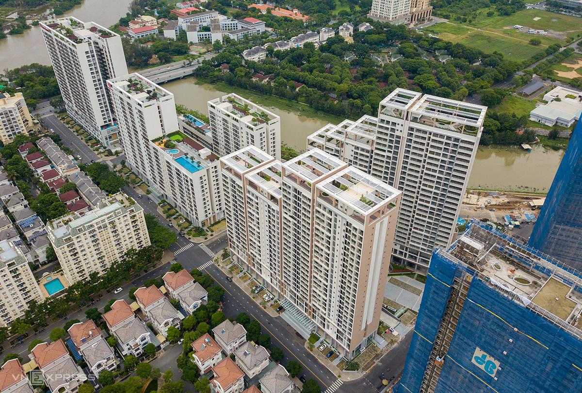 Giá bất động sản không có dấu hiệu giảm qua hai đợt Covid-19.